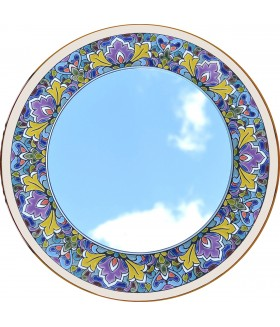 Декоративное зеркало. 40 см.  З-4002